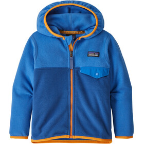 Patagonia Micro D Snap-T Jacket Kids superior blue w/bayou blue